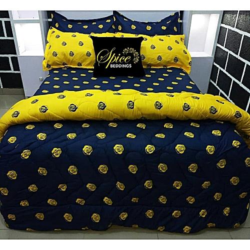Duvet, Bedsheet, Pillow Cases (Free Gift Inclusive)