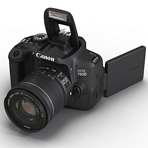 CANON 750D WITH 18 -55MM LENS