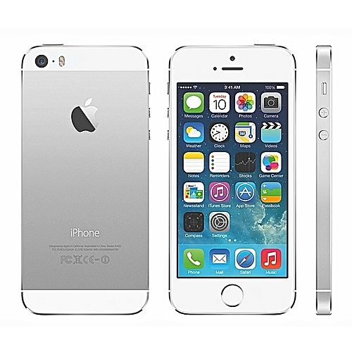 IPhone 5S 16GB With Finger Sensor 4G LTE ( Gift ) Silver
