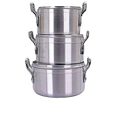 Cooking Pots-3Pcs