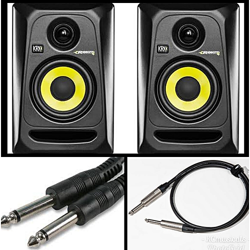 Rokit 4 Active Studio Monitor + Connection Cables