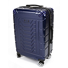 Plover Travel Luggage Rolling Suitcase Trolley Suitcase With Password Lock  Blue 8eedaf9eda3a6