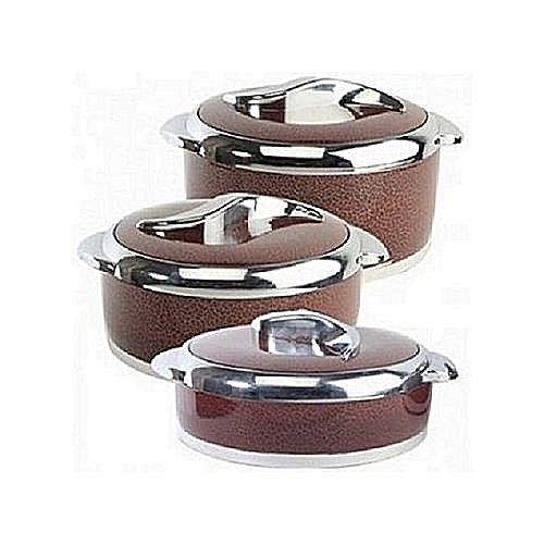 3set Food Warmer Casserole Set