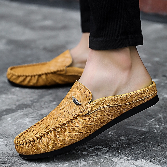 b8463a057f72e1 Mens Loafers Men Leather Driving Shoes Comfortable Soft Moccasins Men