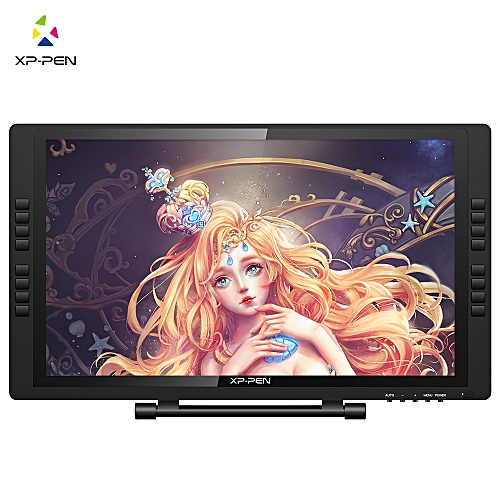 XP-Pen Artist22E PRO FHD IPS Digital Graphics Drawing Tablet Pen Display Monitor With Shortcut Keys And Adjustable Stand