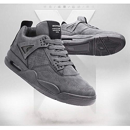 Smart Unisex Classic Sneakers - Grey