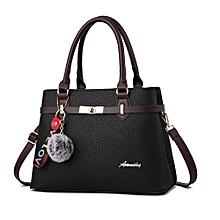 85450a4d7 Classic Ladies Women Handbag – Black With Charm