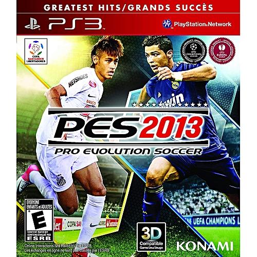 Konami PES 13 Ps3  cd9057446ddfc