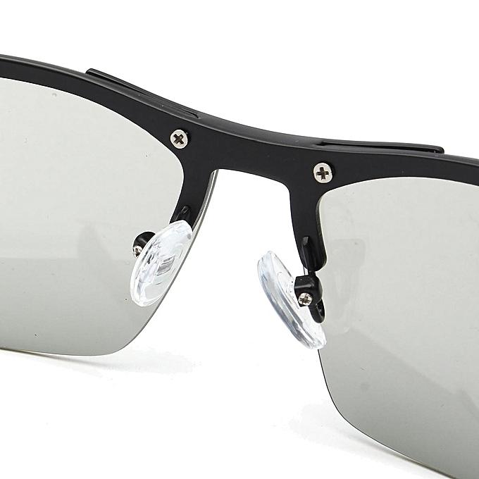 6c7421a76eed8 ... Polarized Photochromic Sunglass Man Outdoor Driving Transition Lens  Sunglasses Black ...