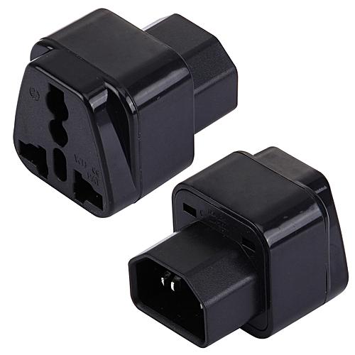 WD-320 Portable Universal Plug To C13-C14 Socket Adapter Power Travel Converter
