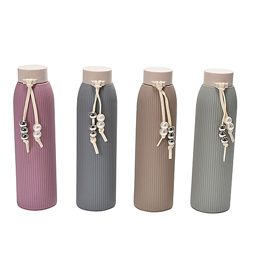 310ml Glass Water Bottle Outdoor Portable