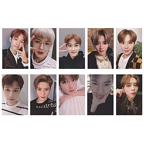 Eleganya 10 Pcs/Set Kpop NCT New Album Fashion Photo Small Cards