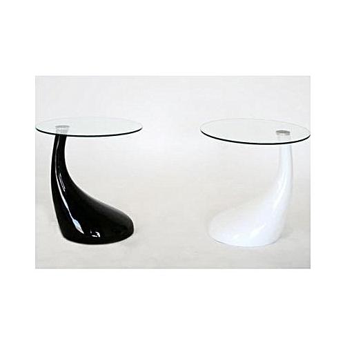Donaldo Side Stool 2 - 65 X 45cm-White And Black