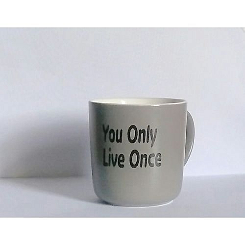Birthday Gift For Him/Her (You Only Live Once) - Mug