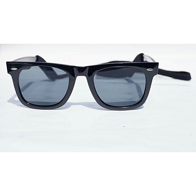bed71223db Fashion Unisex Classic Wayfarer Style Sunglasses With Black Cord ...