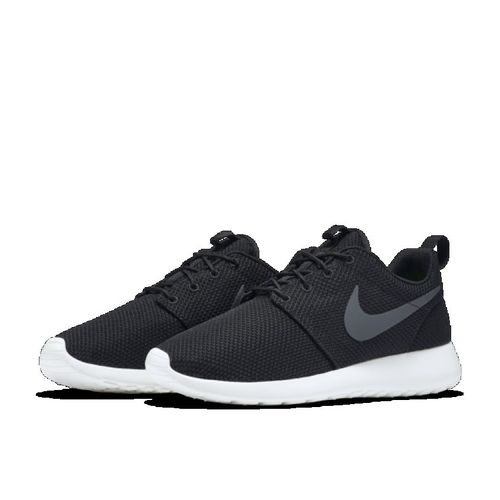 cheap for discount a9eb3 577fa ... NIKE Roshe One Roshe One Men Black Shoes . ...