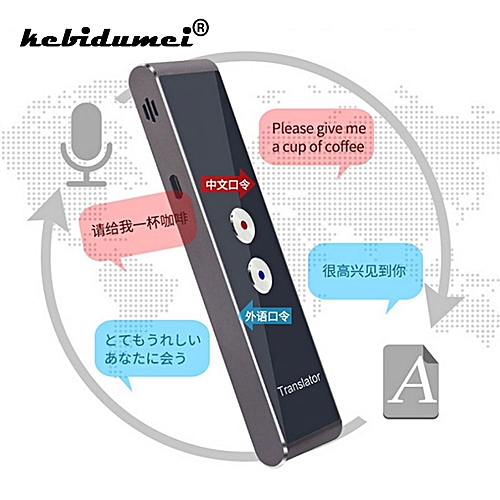 Portable Smart Voice Translator Two Way Upgrade Version For Learning Travel Business Meeting 3 In 1 Voice Language Translator WAAAA