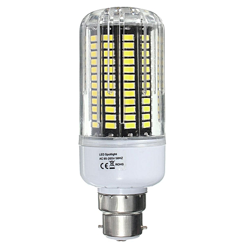 B22 140 SMD 5736 LED 18W Corn Lights PC Cover Light Bulb Lamp AC85-265V