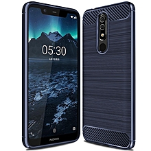 Nokia X5 / Nokia 5.1 Plus Case Soft TPU Shock Proof Phone Cover Case