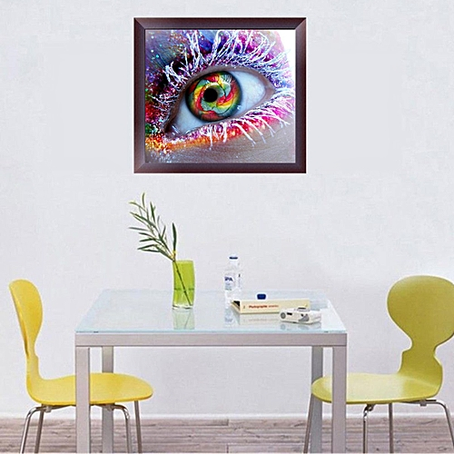 Floral DIY 5D Abstract Diamond Painting Embroidery Cross Stitch Wall Home 20*30cm