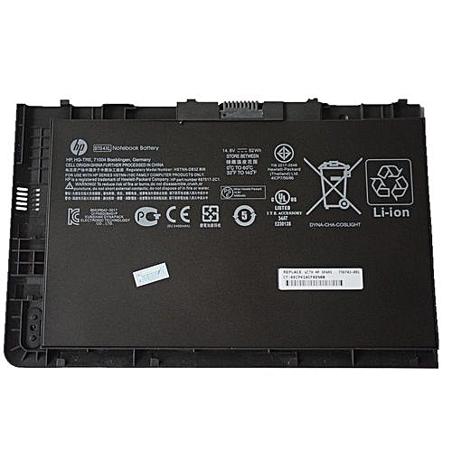 HP Battery For EliteBook Folio 9470 9470m 9480 BT04XL