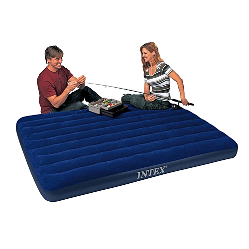 Inflatable Air Bed With Pump - 2 People