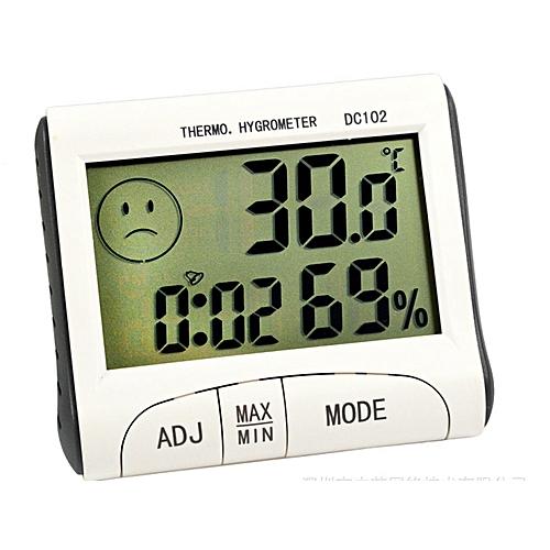 Multi-function Digital Thermal Hygrometer Alarm Clock