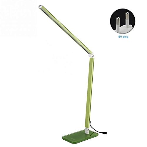 Warm Light Table Lamp Desk Table Light Led Desk Lamps Flexo Flexible Lamp Office Table Light Bureaulamp Led Lamp Table(Green)