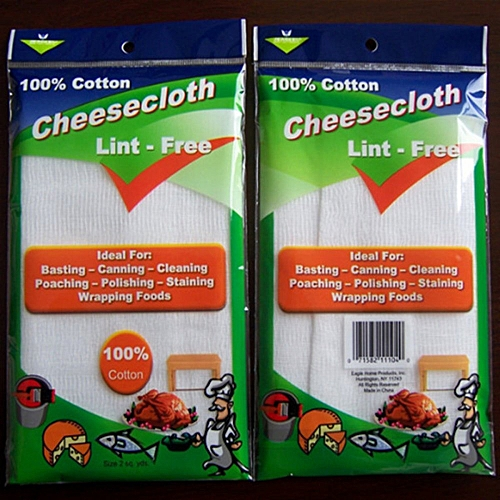 2pcs 100% Cotton Gauze Muslin Cheesecloth 2.8x0.95 M For Cheese Cloth Soft-Absorben