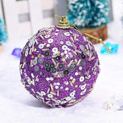 Christmas Rhinestone Glitter Baubles Balls Xmas Tree Ornament Decoration 8CM Wannag
