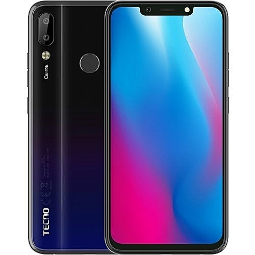 Camon 11 Pro (CF8) 6.2Inch FHD (6GB, 64GB ROM) Android 8.1 Oreo, 16MP + 5MPDual Rear Camera,24mp Front Camera With Flash,Smartphone,Battery 3750mAh- Nebula Black