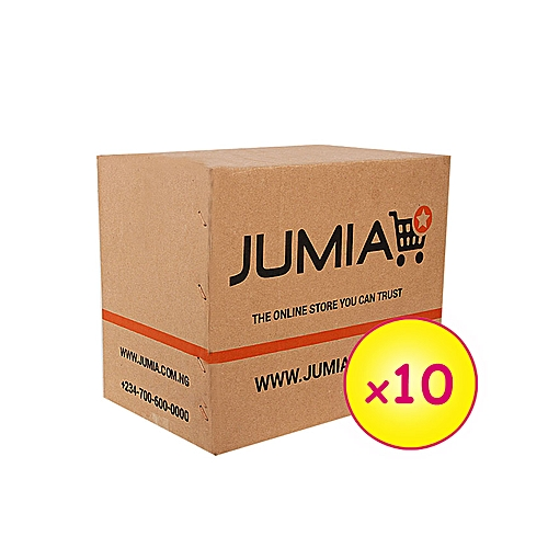 10 Small Branded Cartons (003) (154mm x 153mm x 107mm) [new design]