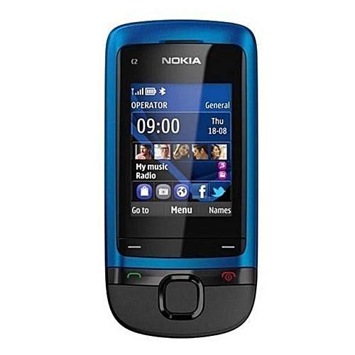Nokia C2-05 0.3MP Camera Radio Bluetooth GSM 900 / 1800 Cellphone