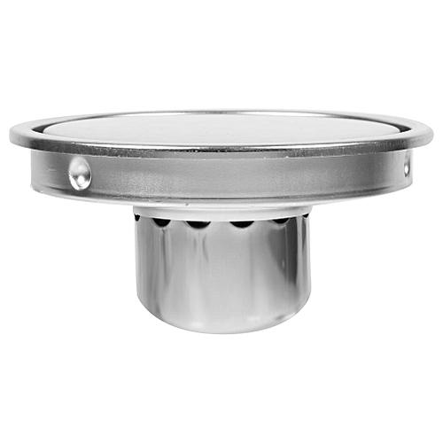1Pcs Bathroom Circular Floor Drain Stainless Steel Circular Invisible Bathroom Floor Drain Waste Gate Anti-odor Shower Drainer
