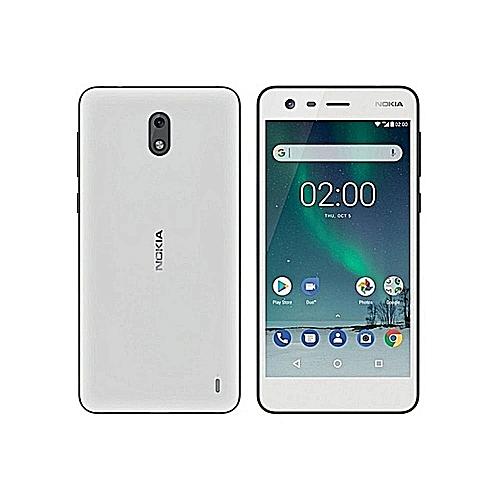 Nokia 2 Dual Sim - 8gb rom 1gb ram 4g lte android 7.1 nougat 8mp 5mp camera Peweter White