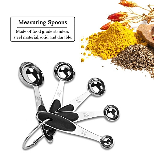 10PCS Stainless Steel Measuring Spoons Cups Multi-color Baking Tools 10PCS