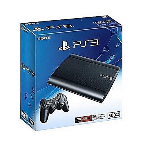 Computer Entertainment Playstation 3 500GB SUPER SLIM CONSOLE +18 BONUS With FIFA19