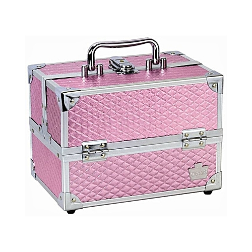 Fashion Professional Makeup Box With Handle