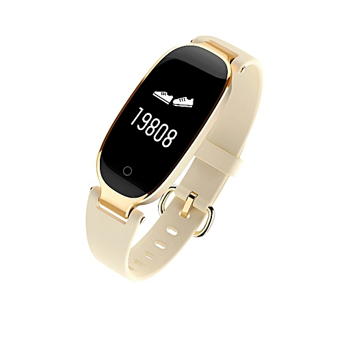 617446574 Generic Bluetooth Waterproof S3 Smart Watch Fashion Women Ladies Heart Rate  Monitor Fitness Tracker Smartwatch 2018 For Android IOS
