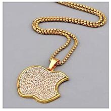 12b6c9f0da486 Men  039 s Stony Pendant And Necklace - Gold