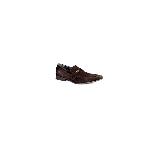 Calvin Klein Brown Suede Dress Shoe