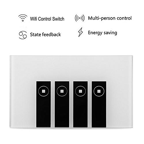 4 Gang Wifi Switch Panel Work With Alexa