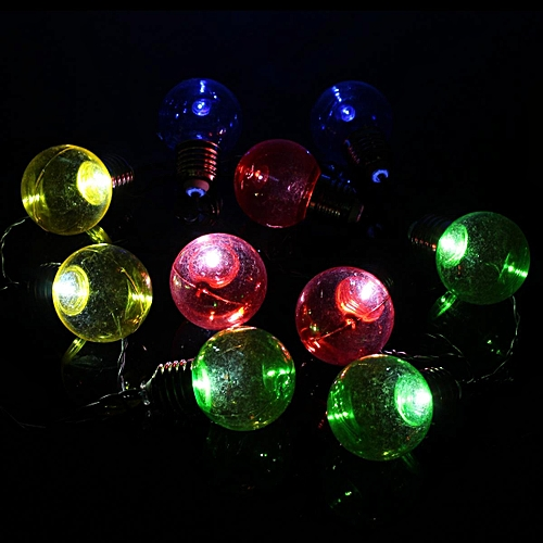 LED String Light Ball Shaped Fairy Bulb Party Wedding Decor Indoor/Outdoor#Cold White