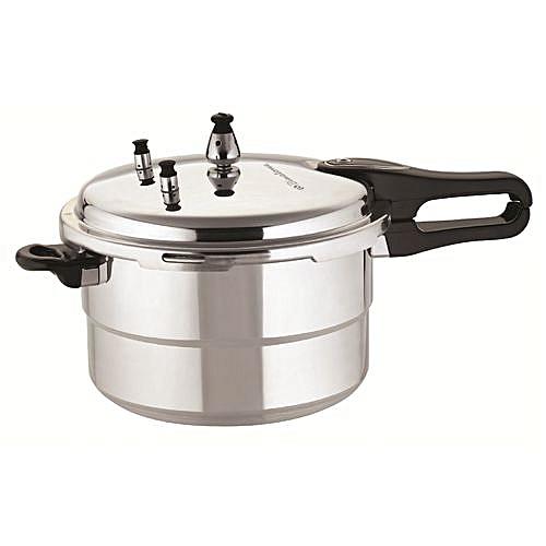 11-Litre Pressure Cooker - Silver
