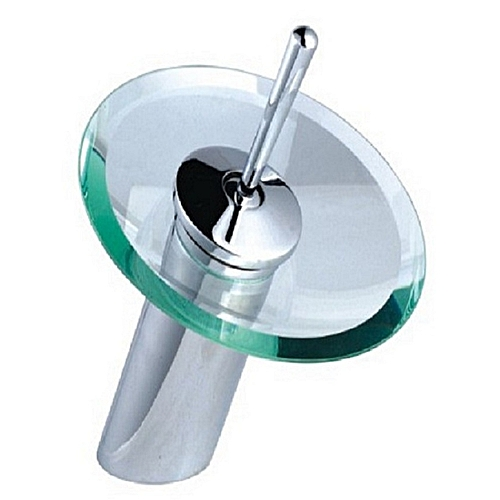 Short Glass Water Fall Faucet