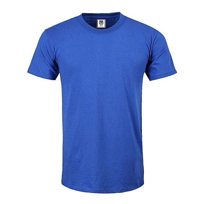 cd86469020 Priddi international Plain T-shirt - Royal Blue