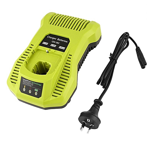 12V-18V Charger Replacement For Ryobi P117 Rechargeable Battery Pack Power Tool Green
