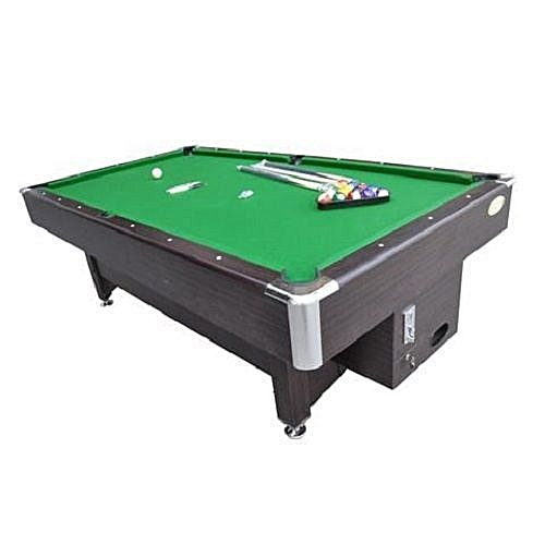8ft Coin Operated Snooker Board With Complete Accessories (Only Lagos Delivery Outside Lagos Attract Extra Fee) Prepaid Orders Only