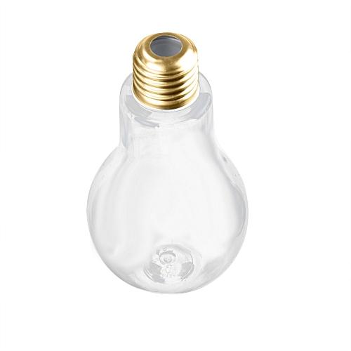 Watermalend Summer Bulb Water Bottle Brief Cute Milk Juice Light Bulbs Cup Leak-proof E