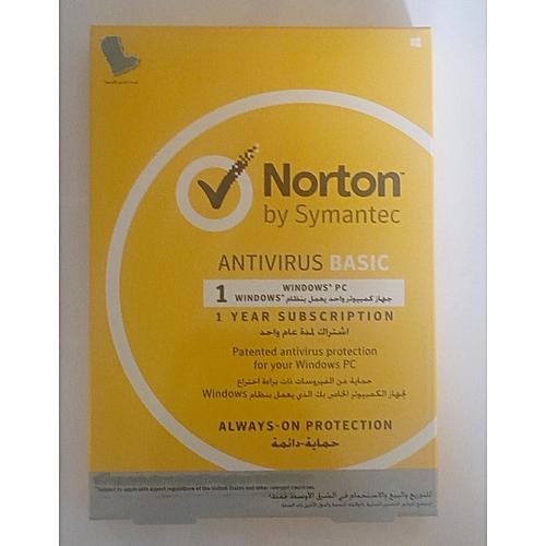Norton 1 User Anti-virus Basic